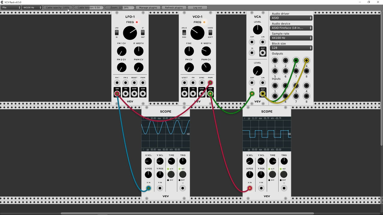 Tutorial: KarateSnoopy – Getting started with modular synthesizers