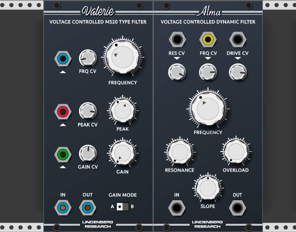 New plugin graphics by Lindenberg Research coming in Rack 0 6